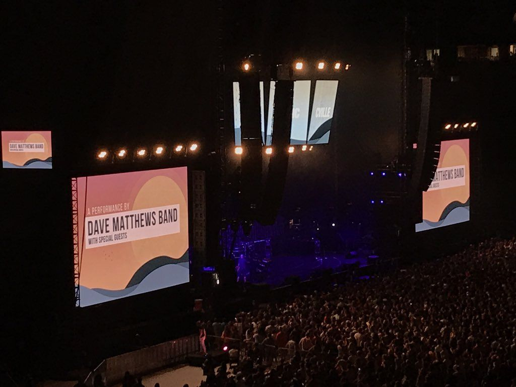 Next up: Dave Matthews Band. (WTOP/Michelle Basch)
