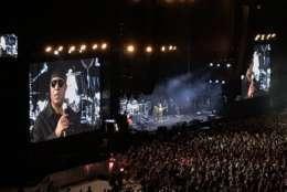 Stevie Wonder also makes an appearance.  (WTOP/Michelle Basch)