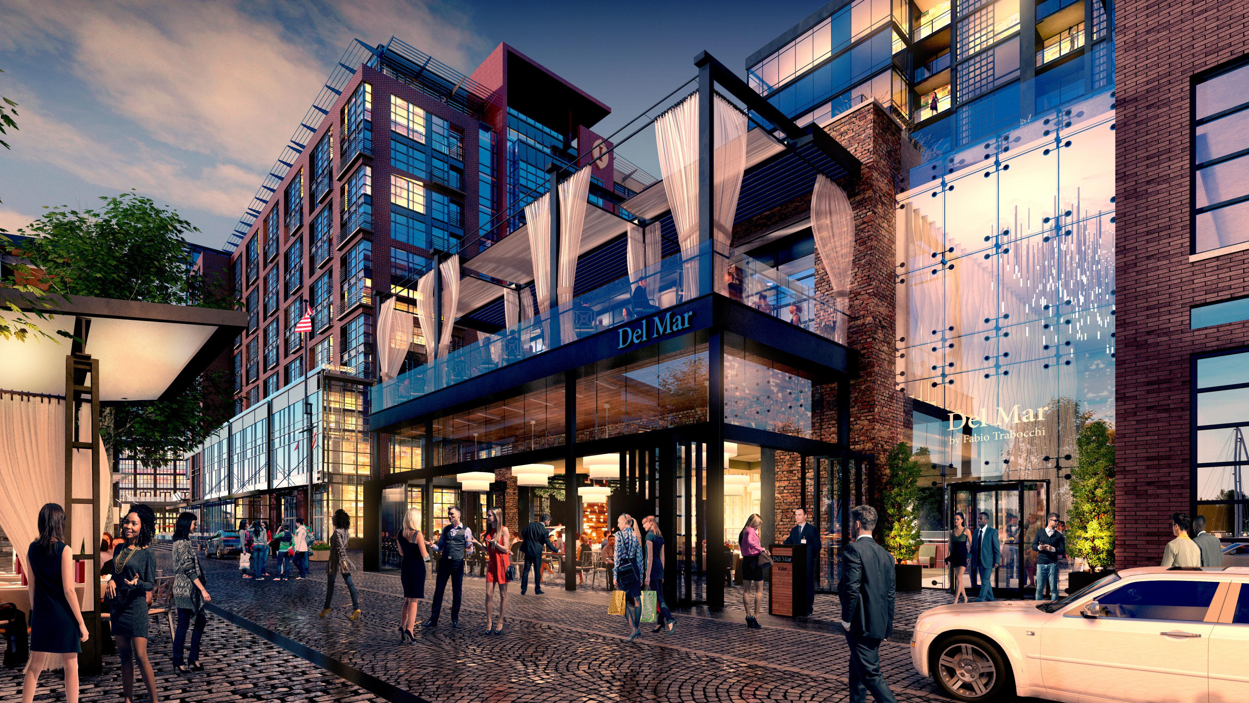 Restaurants Retail Entertainment How The Wharf Will