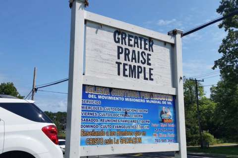 After act of hate, Va. church sees outpouring of love and support