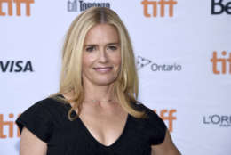 """Elisabeth Shue attends a premiere for """"Battle of the Sexes"""" on day 4 of the Toronto International Film Festival at the Ryerson Theatre on Sunday, Sept. 10, 2017, in Toronto. (Photo by Evan Agostini/Invision/AP)"""