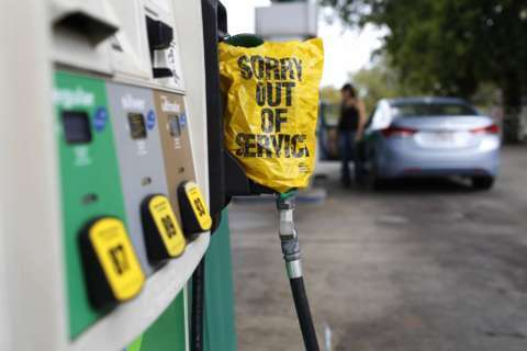 Harvey continues to spike gas prices