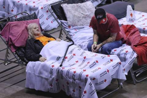 Red Cross helping with Harvey, Irma 'double disasters'