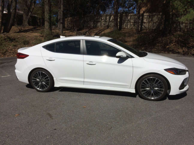 Looking For A Fun To Drive Compact Sedan The Hyundai Elantra Sport Has Excite At Nice Price Wtop Mike Parris