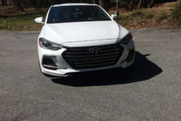 Hyundai is making a big name for itself by selling cars with many features buyers want at a seemingly reasonable price. The compact sports sedan is no exception. (WTOP/Mike Parris)