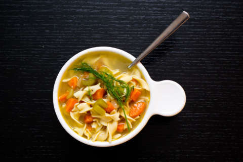 Sick? Now you can get homemade chicken soup delivered to your door