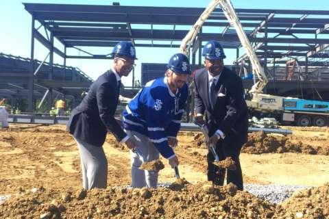 Caps' Ovechkin helps break ground on massive Northern Va. sports complex
