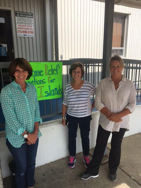 Some of the volunteers for Virgin Islands Relief. (Courtesy Ben Steed)