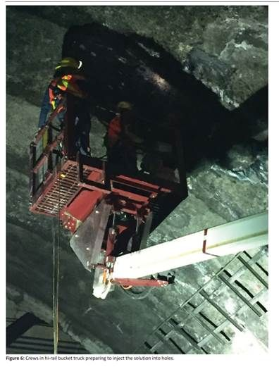 A July 30 inspection by the FTA inside a Metro tunnel is depicted. (Courtesy FTA)