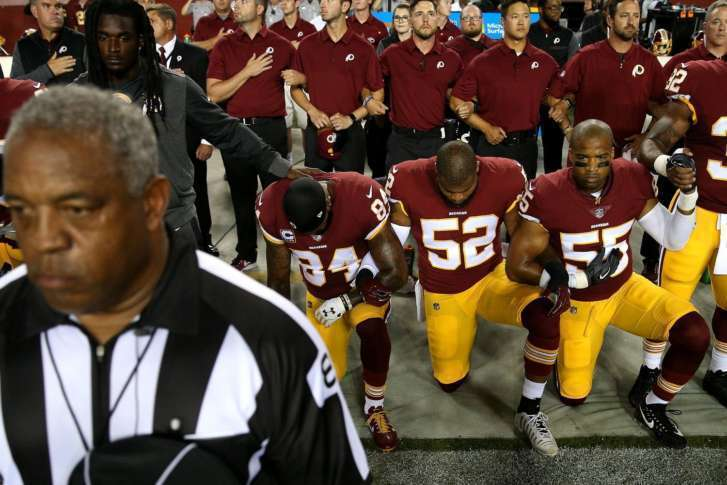 Are NFL players required to stand during the National Anthem — VERIFY