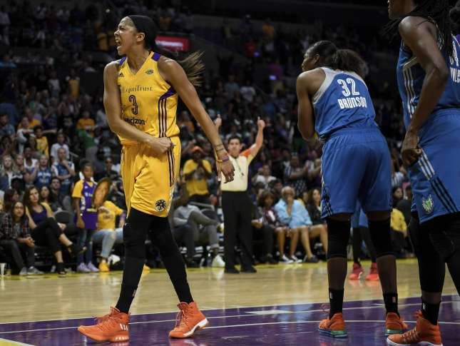 Sparks top Lynx 75-64 for 2-1 WNBA Finals lead