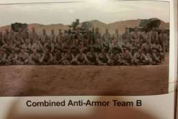 Lisa Anderson, whose son Nick, was in the Marine Corps, will run the 2017 Marine Corps Marathon. Above is a picture of Nick's platoon.  (Courtesy Maj. Scott Cuomo)