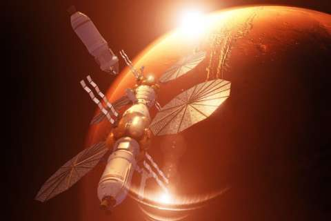 Lockheed Martin shares vision for Mars Base Camp
