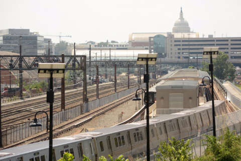 Metro maintenance platforms for new trains sit unused