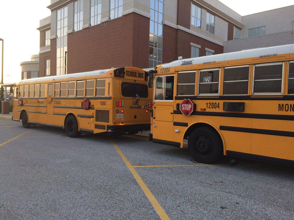 montgomery county maryland school bus