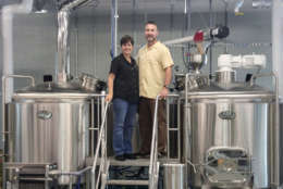 Ono Brewing Co.'s owners, Scott and Cyndi Hoffman. (Courtesy Ono Brewing Co.)