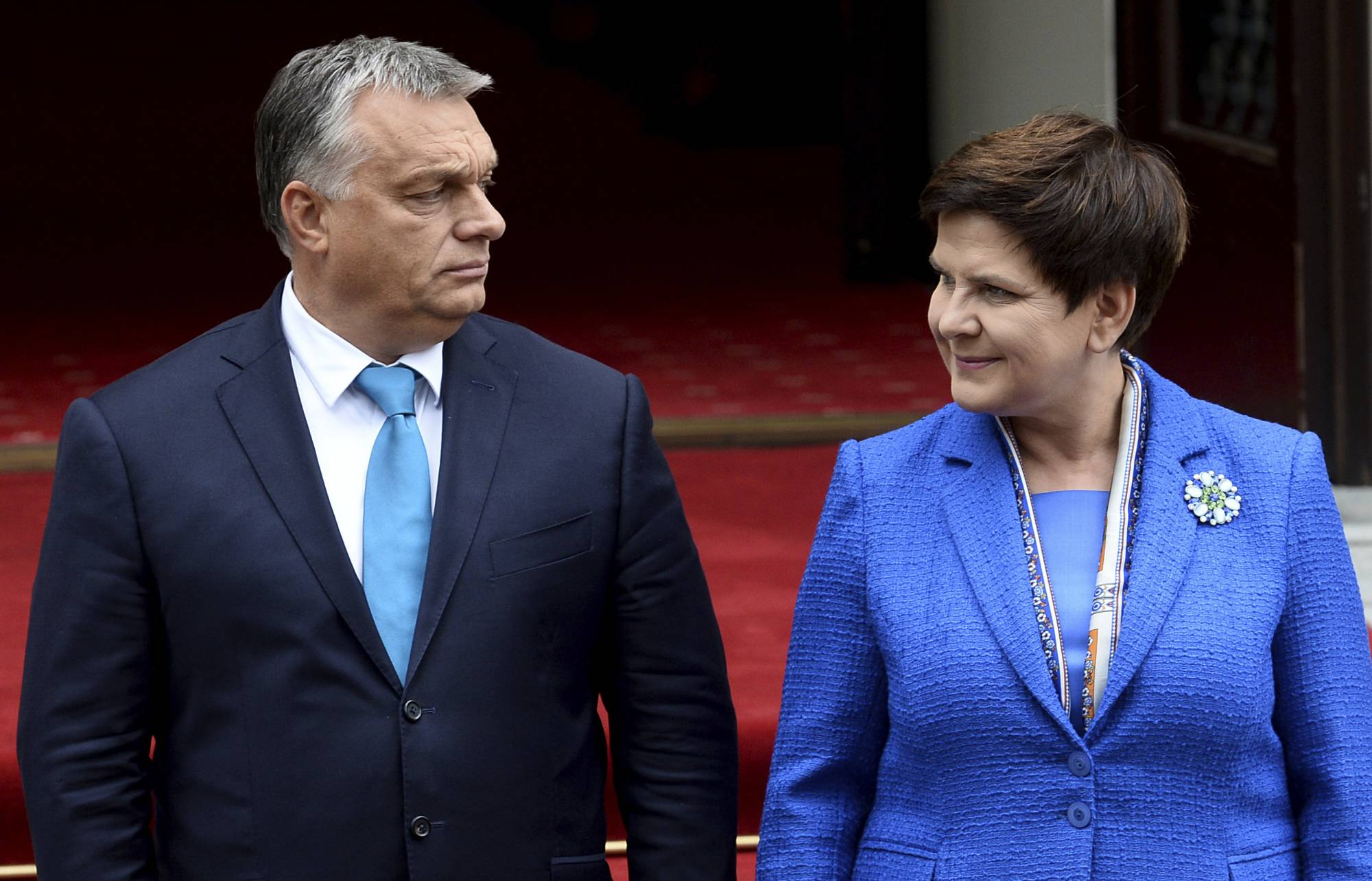 WARSAW, Poland (AP) — The leaders of Poland and Hungary insisted Friday  that they will stick to their anti-migrant policies in defiance of the  European ... efb4423a5d5