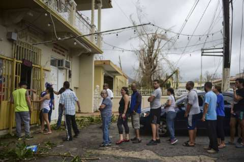 Donation drive underway to benefit Puerto Rico's victims of Irma, Maria