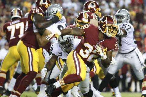 Cousins and dominant defense lead Redskins to prime time win