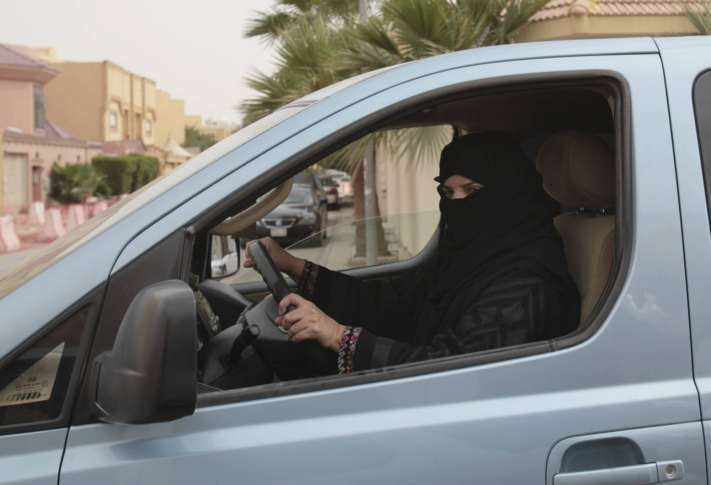 Saudi women finally free to get behind the wheel