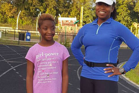 Md. woman runs marathon for her daughter, who wasn't supposed to be able to walk