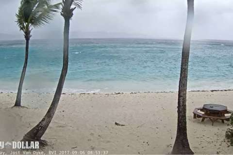 'We are pretty much on our own': In the Virgin Islands, Irma rolls out while Jose nears