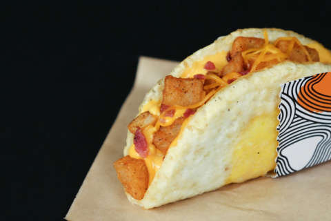 Egg-ceptional: Taco Bell offers new taco shell