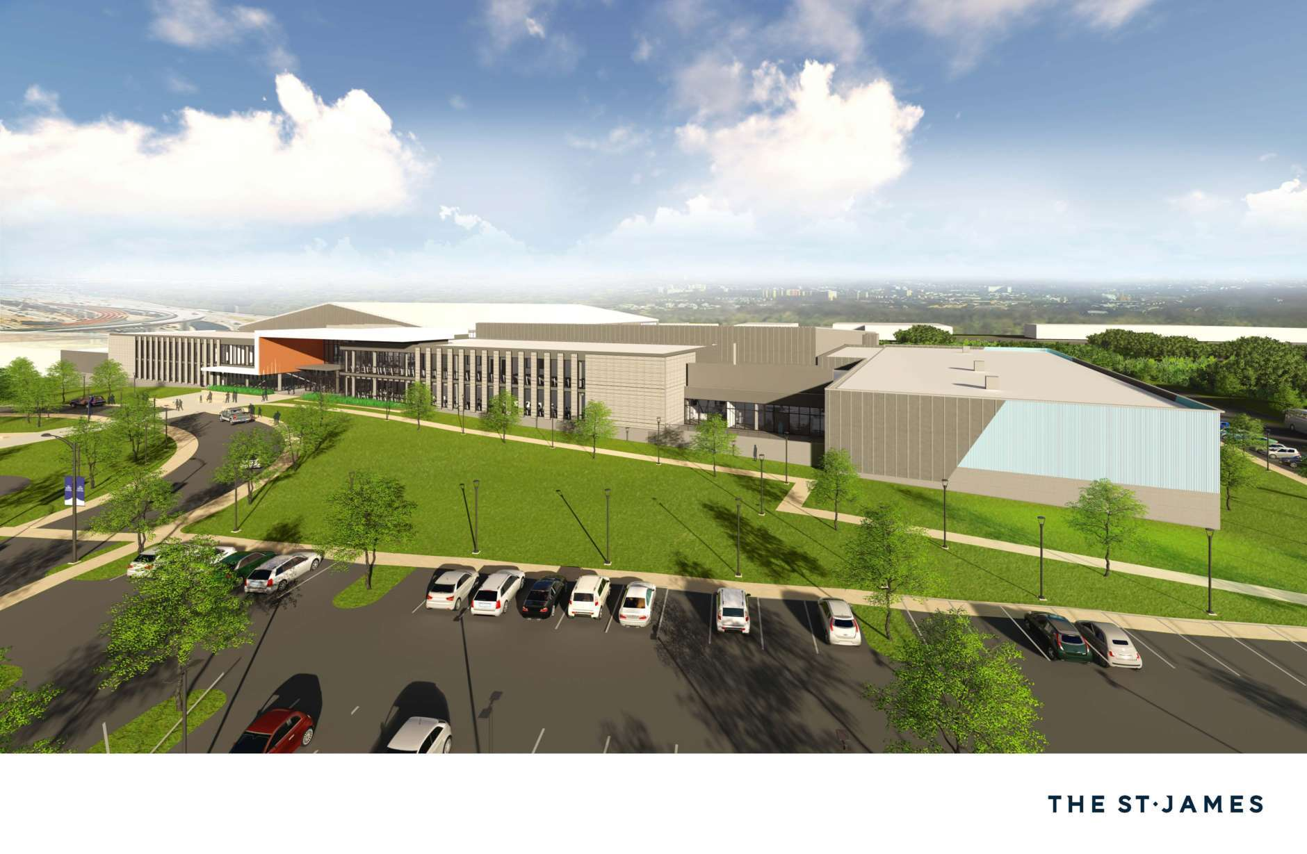 The complex covers 20 acres in Springfield. (Courtesy St. James Sports Complex)