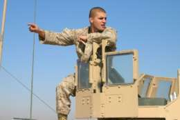 First Lt. Travis Manion was on his second tour to Iraq when killed by a sniper in April 2007. Manion was drawing fire away from wounded team members when he and fellow Marines and Iraqi Army counterparts were ambushed in the Al Anbar province of Iraq. (Courtesy Travis Manion Foundation)