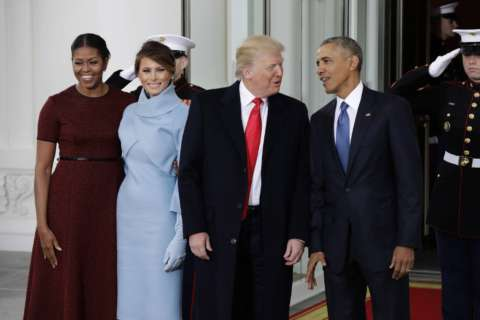 Obama offered accolades, advice in farewell letter to Trump