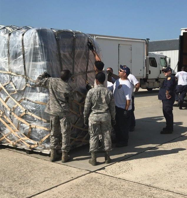 Land, Sea And Air: Local, Federal First Responders Deploy