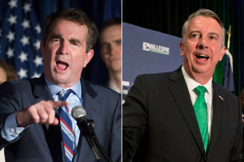 Northam, Gillespie locked in tight race for Virginia governor