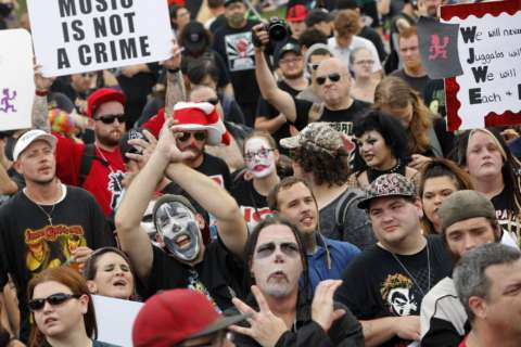 Juggalos and more: National Mall teems with diverse rallies