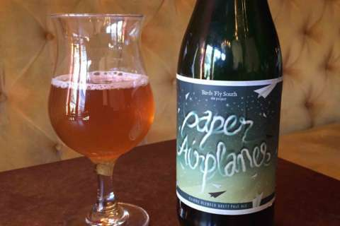 Beer of the Week: Birds Fly South Paper Airplanes Brett Pale Ale