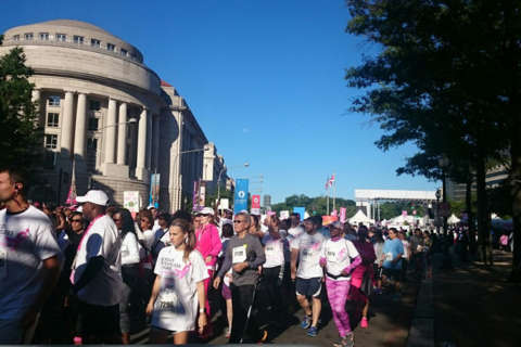 Cancer survivors, supporters hit the streets in 'Race for the Cure'