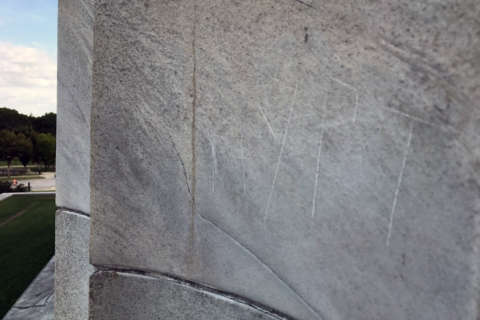 Man charged in defacing Lincoln Memorial with penny is stuck in Russia