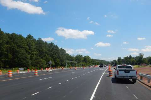 Widening work complete on busy Loudoun Co. commuter route