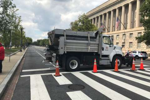 Downtown DC street closures for Fiesta DC festival