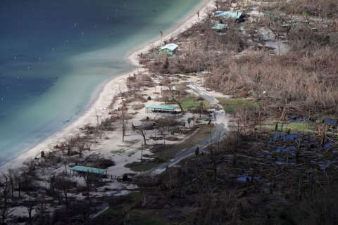 Two weeks after Maria, Virgin Islands pick up the pieces: 'There's no more normal'