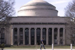 "The ""Great Dome"" atop of building 10 on the campus of the Massachusetts Institute of Technology in Cambridge, Mass.,Monday, April 3, 2017. (AP Photo/Charles Krupa)"