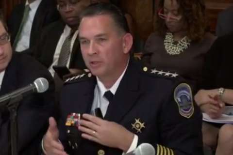 DC police chief addresses rising murder rate, residents' complaints