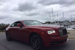 The Rolls-Royce Wraith Black Badge. which sells for $420,000. (WTOP/John Aaron)