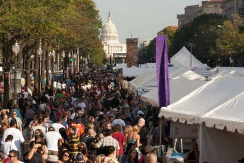 Taste of DC is leaving Pennsylvania Avenue (and it's not taking cash)