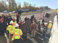 Reversible I-95 Express lane extending 2 miles farther into Stafford County are now open.