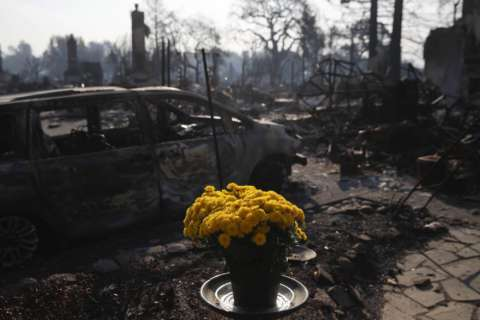 Hopes and plans destroyed overnight by deadly wildfires