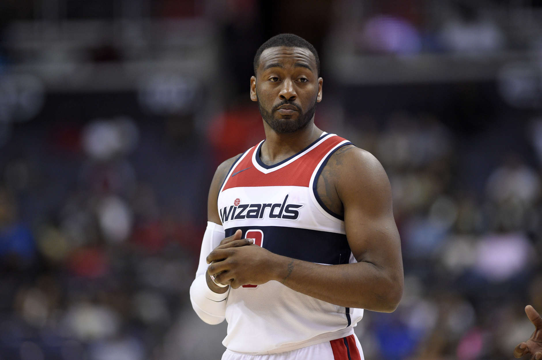 newest collection c9eee 97854 Wizards to go without guard John Wall after sustained knee ...