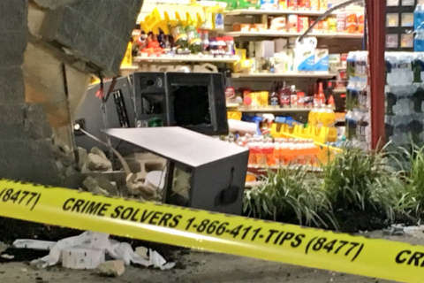 Thief tries to steal ATM in Clinton
