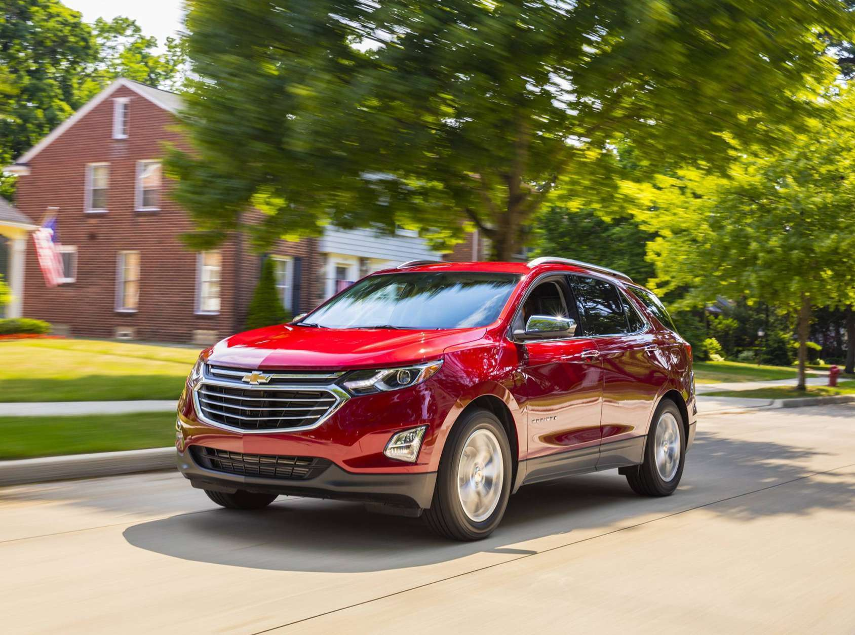 <h3>Chevrolet Equinox 4WD</h3> <p>This family-friendly SUV was largely spared by thieves and was the fourth least-stolen vehicle on the list.</p>