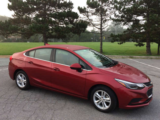 Car Review The Chevrolet Cruze Diesel Delivers A Compact Sedan With