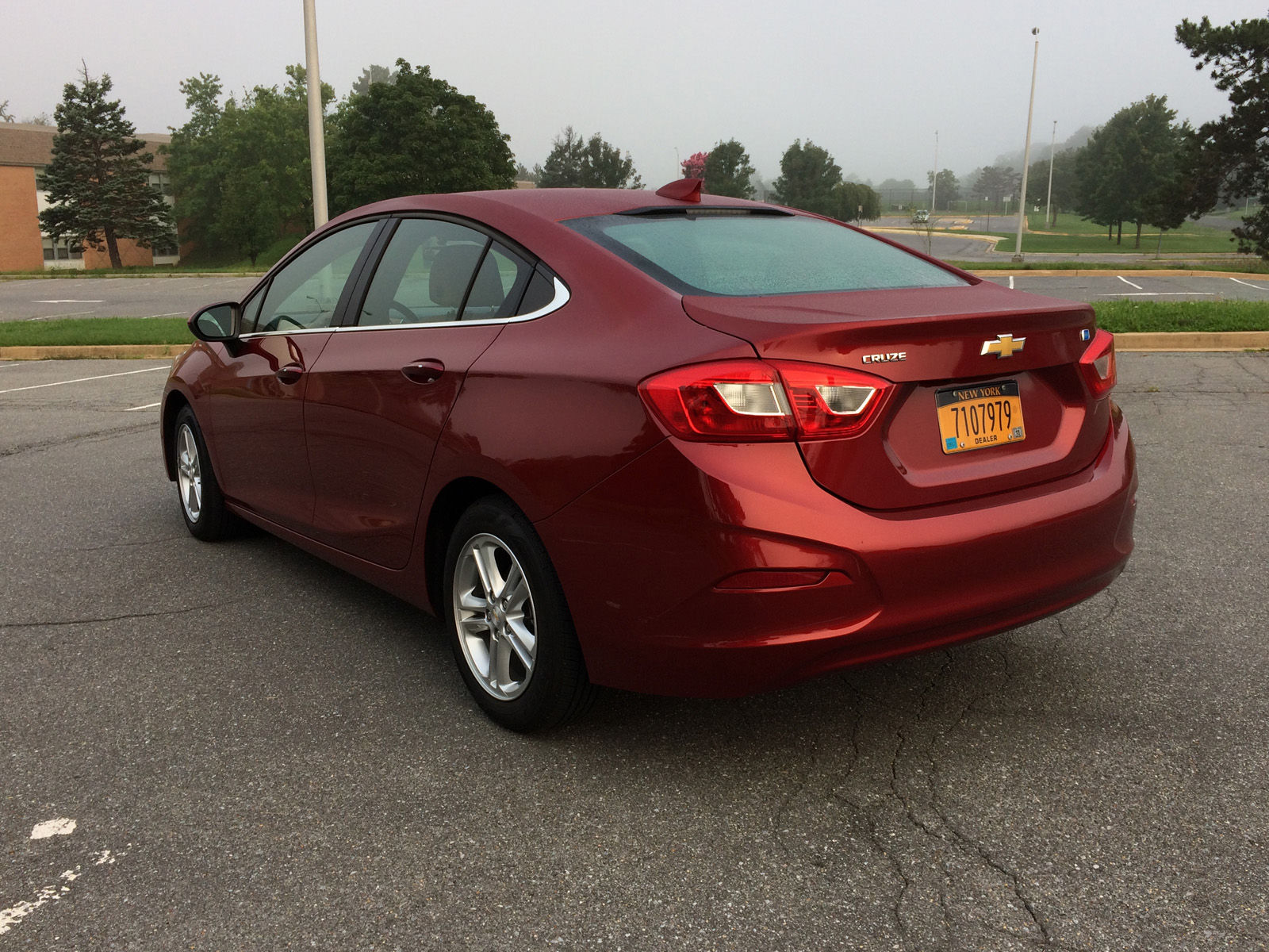 Car Review: The Chevrolet Cruze Diesel delivers a compact sedan with